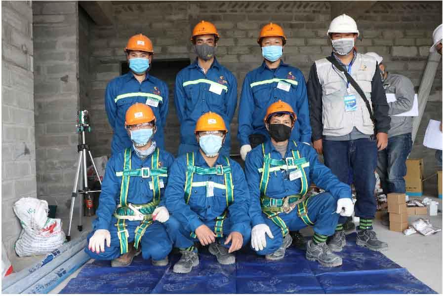 hội thi thợ giỏi ngành xây dựng Việt Nam